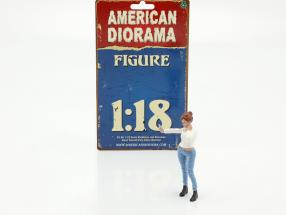 Car Meet series 1  figure #1  1:18 American Diorama