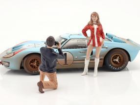 Race Day Series 2  figure #6  1:18 American Diorama