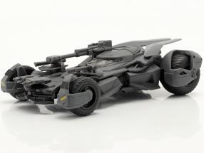 Batmobile Batman Movie Justice League (2017) mat grey 1:43 Jada Toys