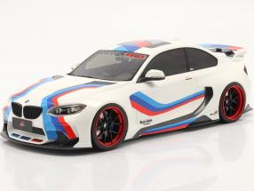 BMW M235i DarwinPro MTC Black Sails Widebody 2018 olympic white 1:18 GLM