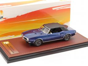 Pontiac Firebird 400 Closed Convertible 1968 dark blue / black 1:43 GLM
