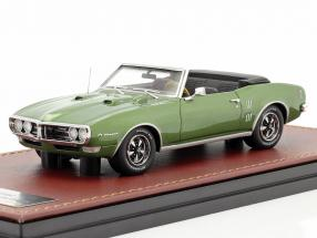 Pontiac Firebird 400 Open Convertible year 1968 green metallic 1:43 GLM