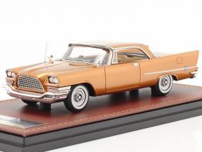 Chrysler 300C Hardtop year 1957 gold metallic 1:43 GLM