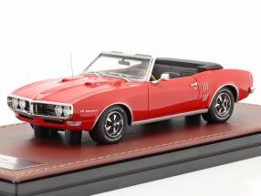 Pontiac Firebird 400 Open Convertible year 1968 Red 1:43 GLM