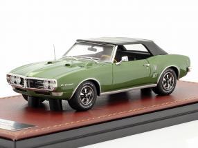 Pontiac Firebird 400 Closed Convertible 1968 green metallic / black 1:43 GLM