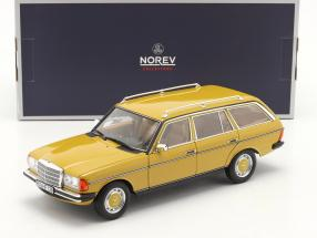 Mercedes-Benz 200 T-model (S123) year 1982 yellow 1:18 Norev