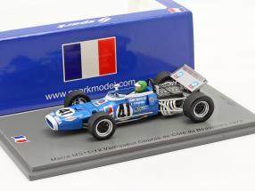Matra MS11-12 #41 Winner Course de Coe du Beaujolais 1970 Pescarolo 1:43 Spark