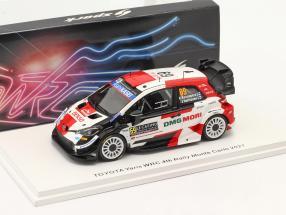 Toyota Yaris WRC #69 4th Rallye Monte Carlo 2021 Rovanperä, Halttunen 1:43 Spark