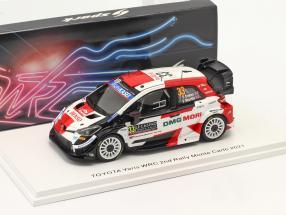 Toyota Yaris WRC #33 2nd Rallye Monte Carlo 2021 Evans, Scott 1:43 Spark