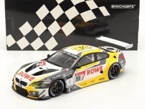 BMW M6 GT3 #98 4th 24h Nürburgring 2020 Rowe Racing 1:18 Minichamps