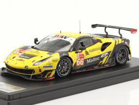 Ferrari 488 GTE Evo #66 24h LeMans 2020 JMW Motorsport 1:43 LookSmart