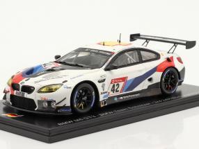 BMW M6 GT3 #42 3rd 24h Nürburgring 2020 BMW Team Schnitzer 1:43 Spark