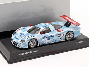 Nissan R390 GT1 #31 24h LeMans 1998 1:43 Kyosho
