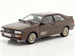 Audi Quattro Coupe year 1983 brown 1:18 SunStar