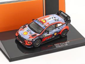 Hyundai i20 Coupe WRC #6 3rd ACI Rally Monza 2020 Sordo, Del Barrio 1:43 Ixo