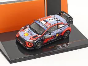 Hyundai i20 Coupe WRC #8 2nd ACI Rally Monza 2020 Tänak, Järveoja 1:43 Ixo