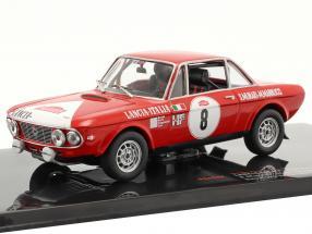 Lancia Fulvia 1600 Coupe HF #8 Rally San Remo 1972 Munari, Mannucci 1:43 Ixo