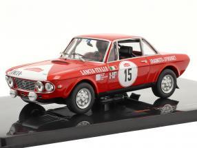 Lancia Fulvia 1600 Coupe HF #15 Rally San Remo 1972 Ragnotti, Rouget 1:43 Ixo