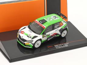 Skoda Fabia R5 Evo #34 ACI Rally Monza 2020 Mikkelsen, Jaeger 1:43 Ixo