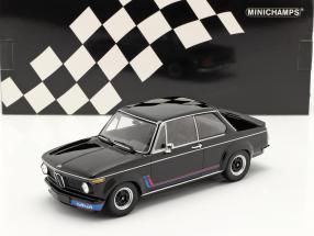 BMW 2002 Turbo year 1973 black 1:18 Minichamps