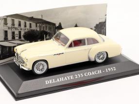 Delahaye 235 Coach Year 1952 beige 1:43 Altaya