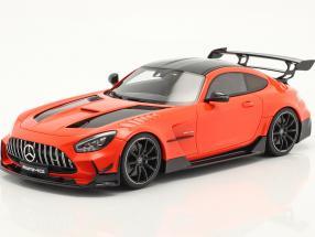 Mercedes-Benz AMG GT-R Black Series year 2021 orange 1:18 GT-SPIRIT