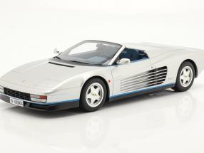 Ferrari Testarossa Spider year 1998 silver 1:12 GT-SPIRIT