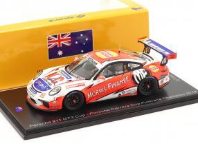 Porsche 911 GT3 Cup #7 champion Porsche Carrera Cup Australia 2018 1:43 Spark