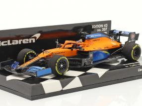 Carlos Sainz McLaren MCL35 #55 2nd Italy GP F1 2020 1:43 Minichamps