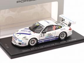 Porsche 911 (997) GT3 Cup #23 Porsche Carrera Cup 2011 Ragginger 1:43 Spark
