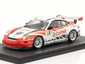 Porsche 911 (997) GT3 Cup #18 Porsche Carrera Cup 2007 Janak 1:43 Spark