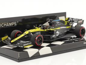 Daniel Ricciardo Renault R.S.20 #3 3rd Eifel GP formula 1 2020 1:43 Minichamps
