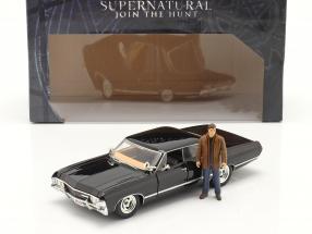 Chevy Impala SS Sport Sedan 1967 TV series Supernatural with figure 1:24 Jada Toys