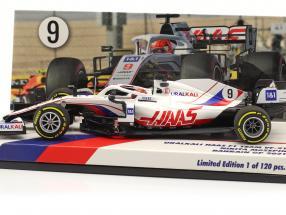 Nikita Mazepin Haas VF-21 #9 Bahrain GP formula 1 2021