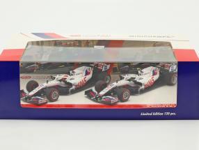 Schumacher #47 & Mazepin #9 2-Car Set Haas VF-21 formula 1 2021