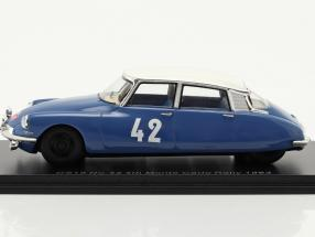 Citroen DS19 #42 4th Rallye Monte Carlo 1963 Bianchi, Ogier