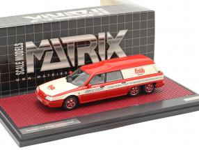 Citroen DX Break Loadrunner Früh Kölsch 1989 red / white 1:43 Matrix