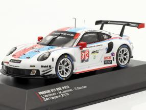 Porsche 911 RSR #912 3rd GTLM class 24h Daytona 2019 Porsche GT Team 1:43 Ixo