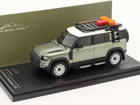 Land Rover Defender 110 year 2020 pangea green 1:43 Almost Real