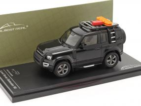 Land Rover Defender 90 year 2020 santorini black 1:43 Almost Real