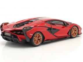 Lamborghini Sian FKP 37 year 2019 red / black