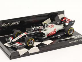 Kevin Magnussen Haas VF-20 #20 Abu Dhabi GP formula 1 2020 1:43 Minichamps