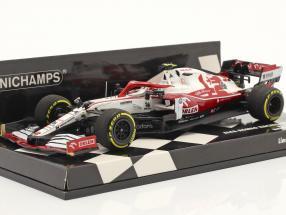 A. Giovinazzi Alfa Romeo Racing C41 #99 Bahrain GP formula 1 2021 1:43 Minichamps