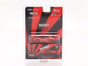 LB-Works Nissan G-TR (R35) LHD candy red in Blister 1:64 TrueScale