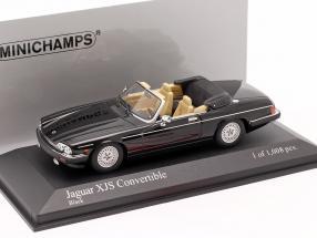 Jaguar XJS Convertible year 1988 black 1:43 Minichamps