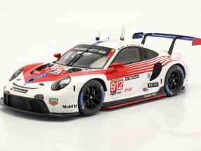 Porsche 911 RSR #912 2nd GTLM class 12h Sebring IMSA 2020 1:18 Spark