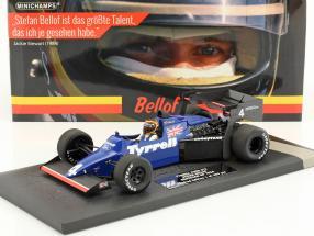 Stefan Bellof Tyrrell 012 #4 Brazil GP formula 1 1984 1:18 Minichamps