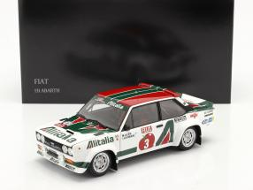 Fiat 131 Abarth #3 Winner Rallye 1000 Lakes 1978 Alen, Kivimäki 1:18 Kyosho