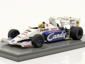 Ayrton Senna Toleman TG184 #19 2nd Monaco GP formula 1 1984 1:43 Spark