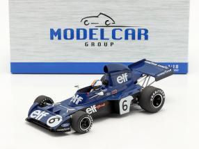 Francois Cevert Tyrrell 006 #6 2nd Belgian GP formula 1 1973 1:18 Model Car Group